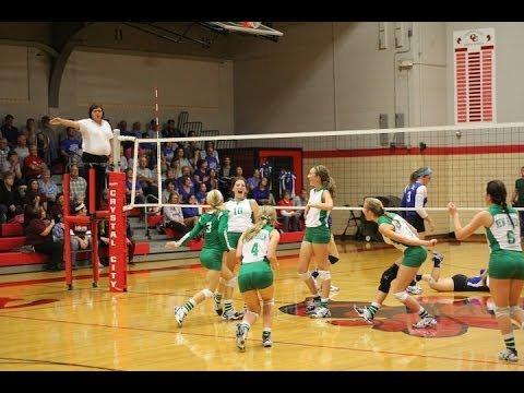 Lady Rocks vs Valle Catholic District Semifinals