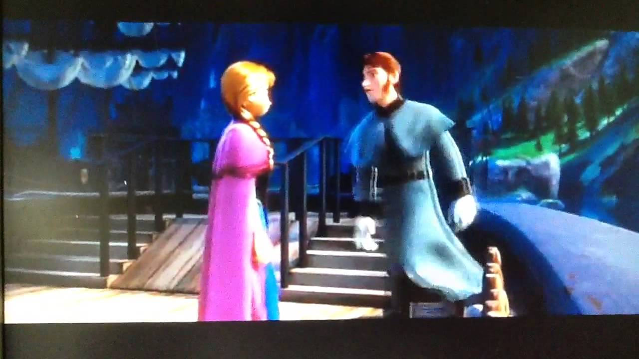 Frozen 2013 Olafs Personal Flurries Anna Punches Hans