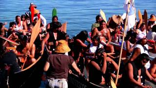 TRIBAL CANOE JOURNEY - NW COAST FIRST NATION CULTURES