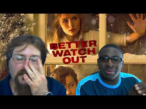 This home alone movie type movie is not for kids/ better watch out trailer reaction