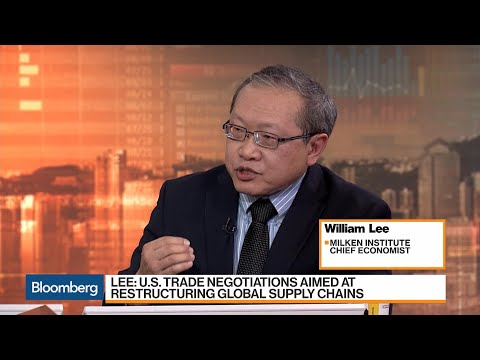 U.S. Trade Negotiations Aimed at Restructuring Supply Chains, Says Milken Institute's Lee