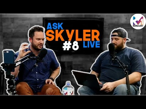 Ask Skyler Live #8: Choosing the Right Domain Name, Personal Branding, and Embarrassing Screen Names