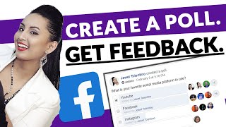 How to Make a Poll on Facebook 2020 Step by Step Tutorial