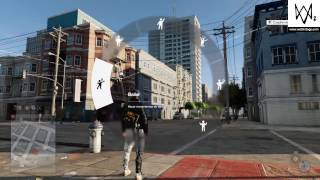 WATCH DOGS2 PS4 persecución policial