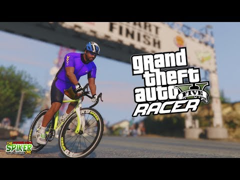 GTA 5:Racer FMX\BMX\ДРИФТ\ГОНКИ- Гонка на велосипеде Race Bike- GTA 5 Моды