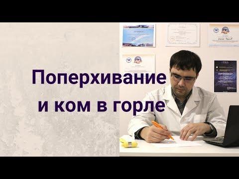 Поперхивание и ком в горле: обзор симптомов
