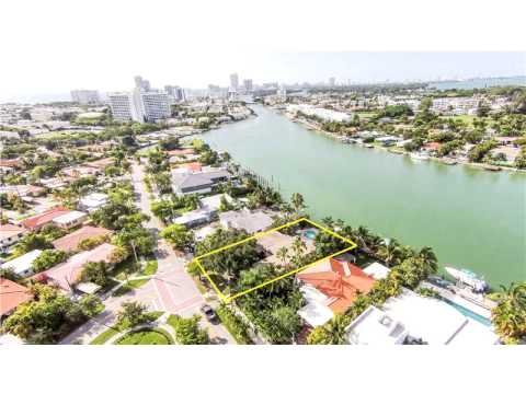 1250 S BISCAYNE POINT RD,Miami Beach,FL 33141 House For Sale