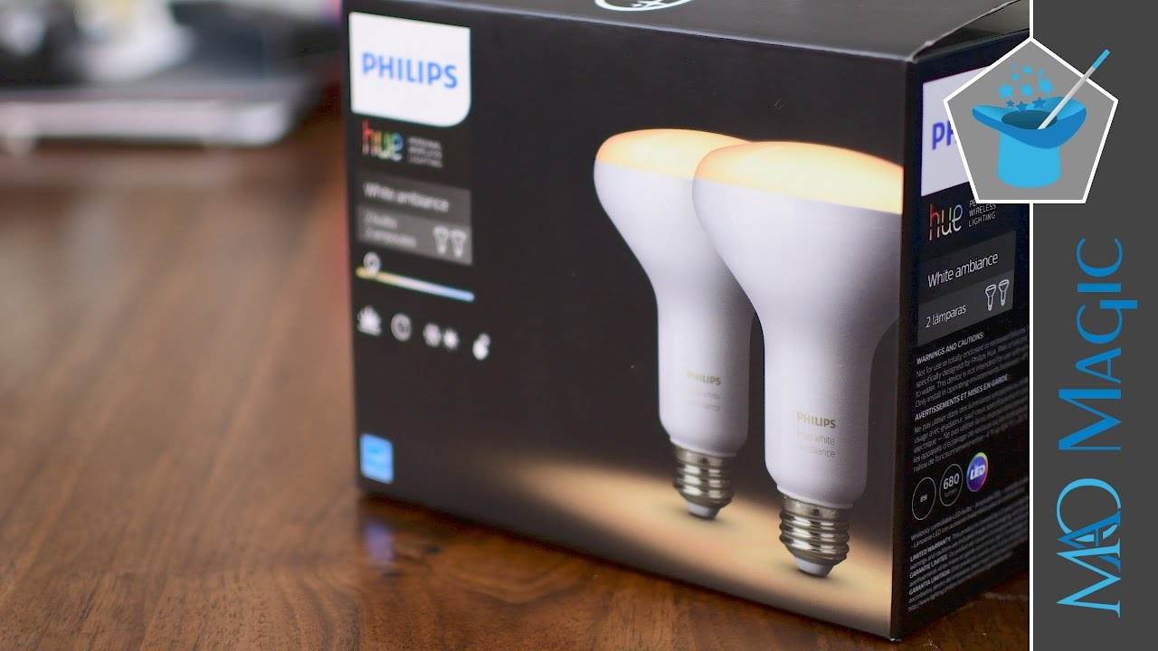 Philips Hue Br30 Hue White Ambiance Br30 Downlight Bulbs Are More Affordable For Kitchens Bathrooms And Hallways