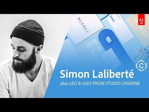 Graphic Design with Simon Laliberte and Studio Caserne - Live 3/3