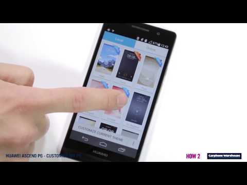 Huawei Ascend P6 - How2 Customise your Phone
