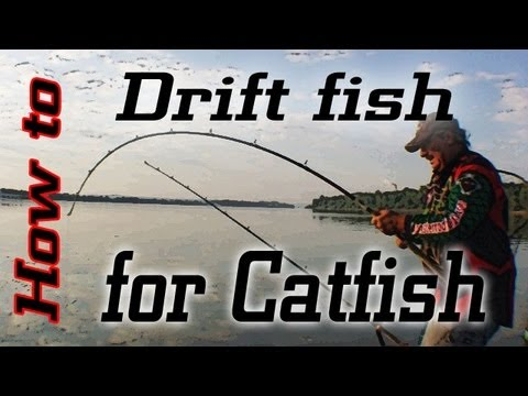 Drift Fishing For Catfish:Learn How To Suspend Drift.
