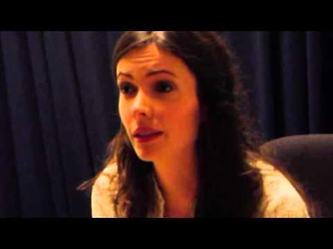 Bitsie Tulloch Audition for 'Grimm'