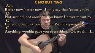 Better Now (Post Malone) Guitar Cover Lesson with Chords/Lyrics - Capo 3rd - High Voice Video