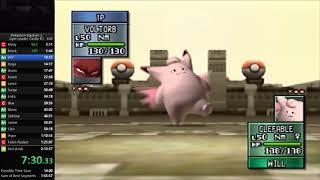 Pokemon Stadium 2 - Gym Leader Castle Round 1 Speedrun in 2:09:09 [Current World Record]