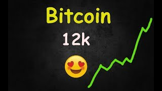 OH MY! Bitcoin Might Hit 12,000 - Here's Why! 🔴 LIVE