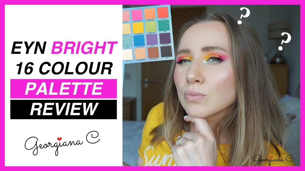 Bright 16 Colour Palette by Beauty Bay #10