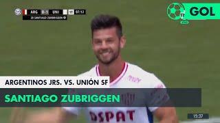 Santiago Zubriggen (0-1) Argentinos Juniors vs Unión SF | Fecha 9 - Superliga Argentina 2018/2019