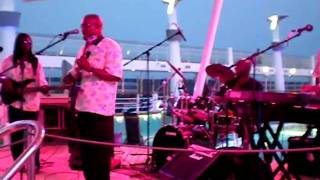 Gerald Brown Drummer Jammin on a Cruise ship April 2011
