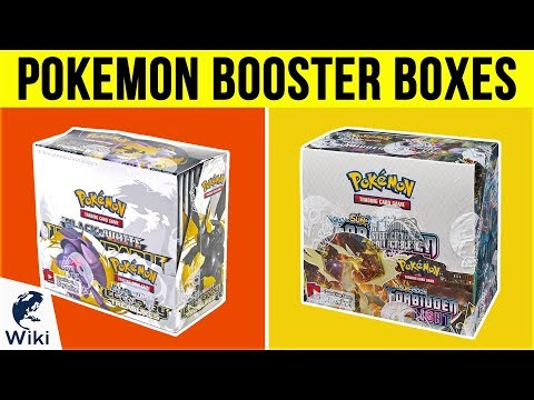 Top 10 Pokemon Booster Boxes of 2019 | Video Review