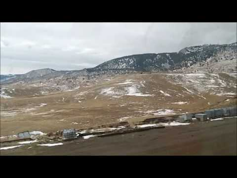 "Christmas 2016 Westbound ""California Zephyr"" trip (Part 2: Denver-Grand Junction, CO)"