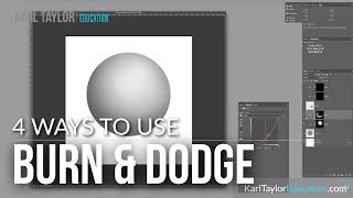 Understanding Burn & Dodge and 4 ways to do it