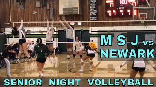 Mission San Jose vs Newark Memorial - Girls Volleyball Game (10/18/18) - SENIOR NIGHT