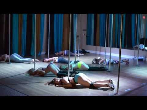 Ex's And Oh's - Elle King Beginner Pole Dance Routine 7-6-15