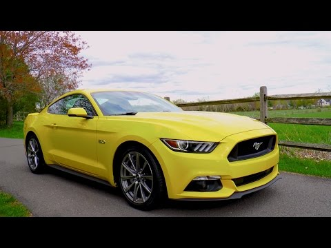 2015 Mustang GT 5.0 V8 0-60 MPH Review - Highway MPG Road Test
