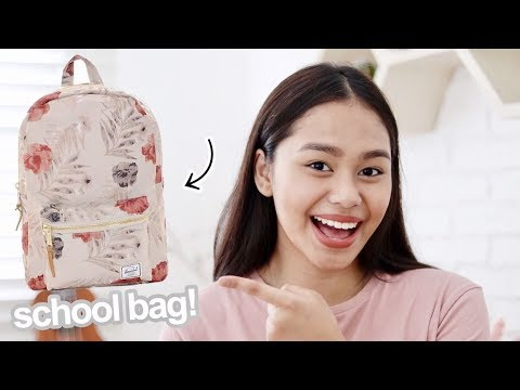 What's in my Backpack 2017! (Philippines) | ThatsBella