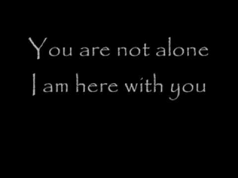 Michael Jackson - You Are Not Alone (testo+traduzione) by WiLLY