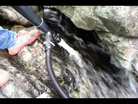 Hand dredging bedrock north california motherload