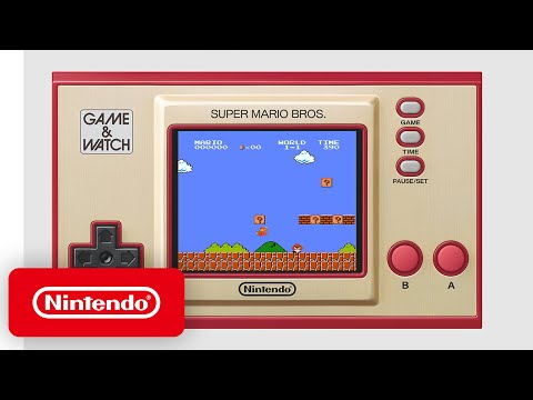 Game & Watch: Super Mario Bros. - Announcement Trailer