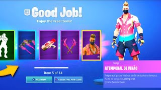 The * NEW * PACK The SUMMER TIME has arrived at the Fortnite...