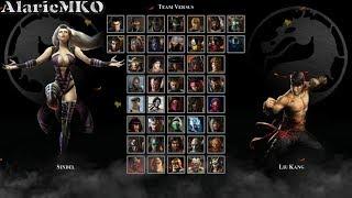 Mortal Kombat Defenders Of The Earth & VS!