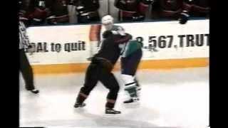 ahl cincinnati utah hockey fight juha alen vs zenon konopka 3 10 04