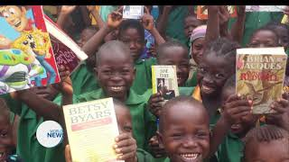 Humanity First distributes school supplies in Sierra Leone