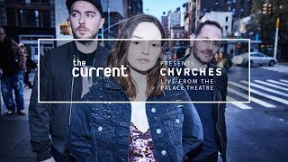 CHVRCHES - Love is Dead tour Live (Palace Theatre in St Paul, MN for The Current)