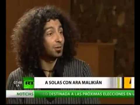 A solas con Ara Malikian (violinista libanés de origen armenio afincado en España)