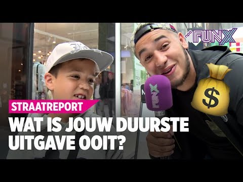 DEN HAAG: WAT IS JOUW DUURSTE UITGAVE OOIT? | FunX Straatreport #13