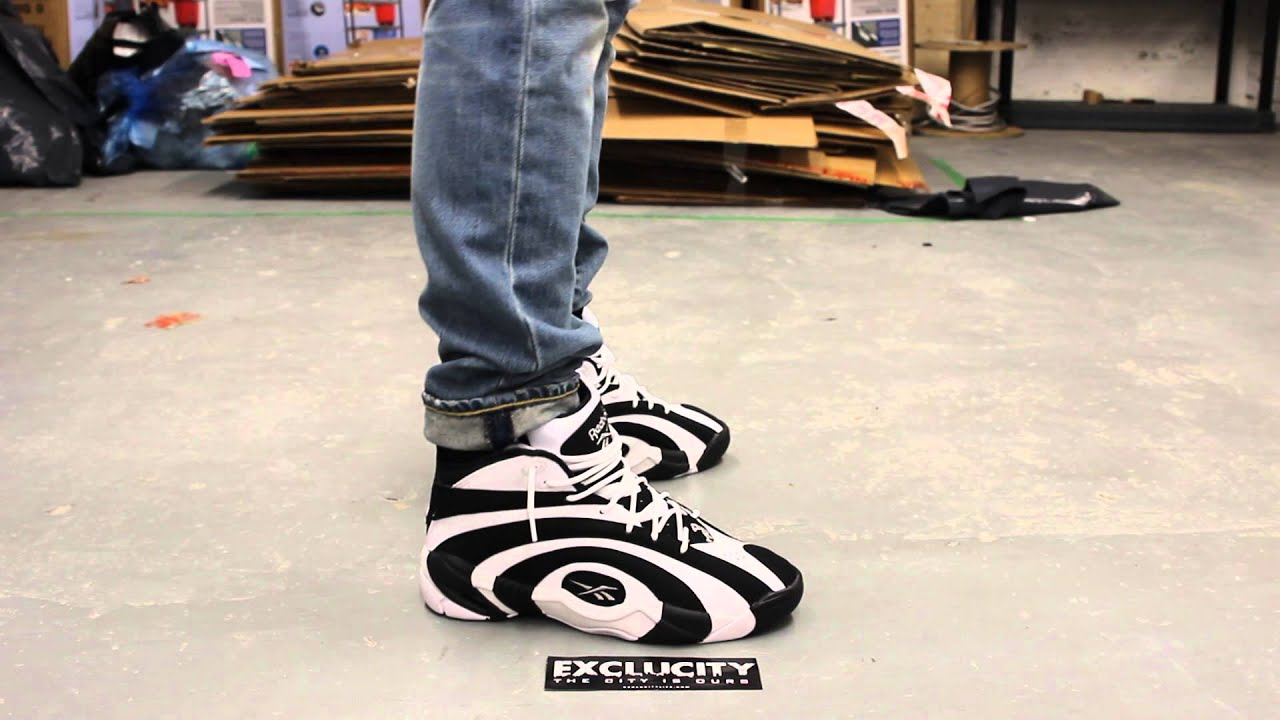 reebok shaqnosis og onfeet video at exclucity youtube
