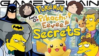 Batman, Game Grumps, & Simpsons in Pokémon Let's Go Pikachu & Eevee (Master Trainer Secrets)