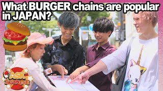JAPAN eats AMERICA! What American fast food chain Japanese love? McDonald's VS BurgerKing VS Wendy's
