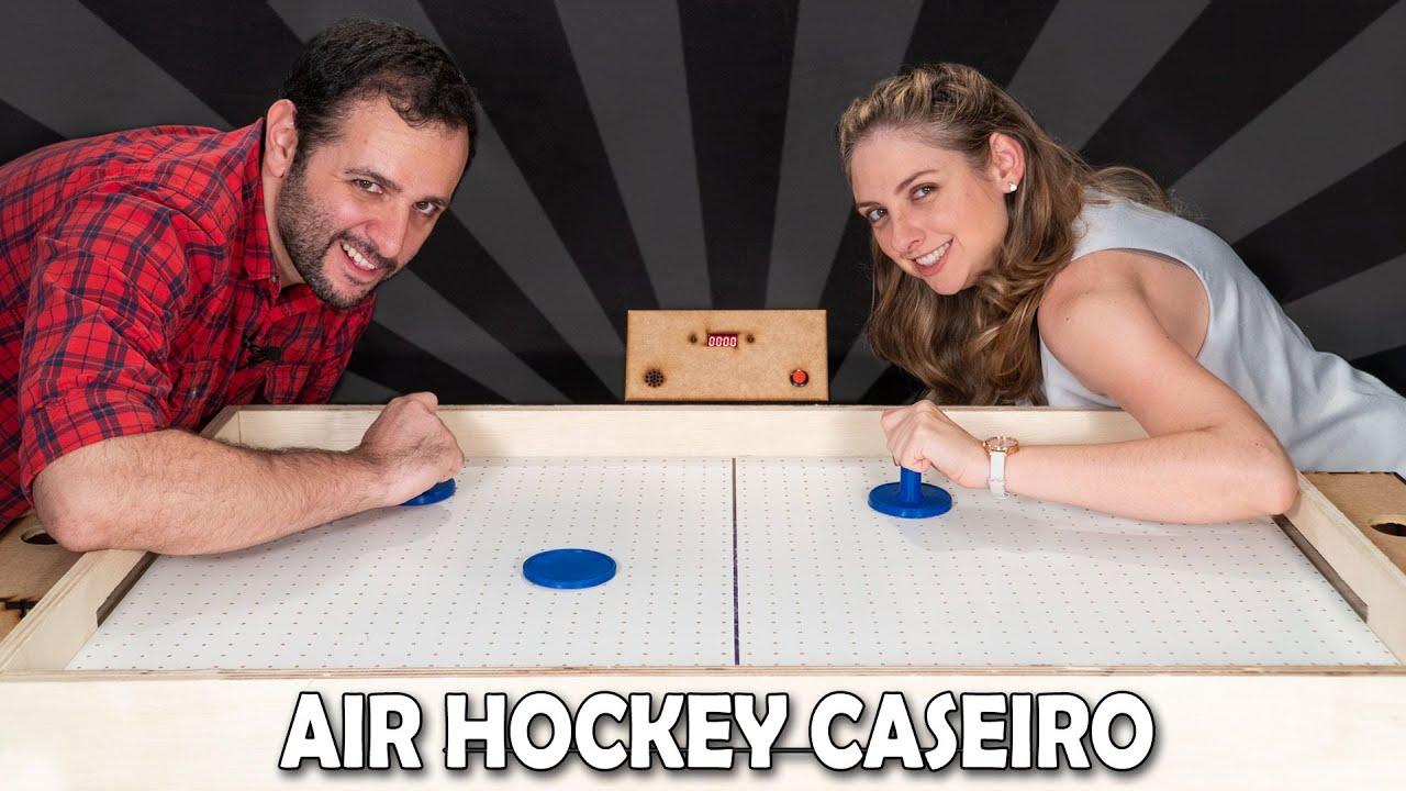 Fizemos uma mesa de air hockey! #ManualMaker Aula 15, Vídeo 2