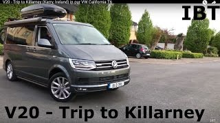 V20 - Trip to Killarney (Kerry, Ireland) in our VW California T6