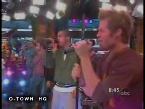 O-Town - Interview   These Are The Days live on Good Morning America (2002)