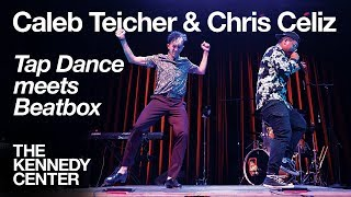 LIVE IMPROV - Tap Dancer Caleb Teicher & Beatboxer Christopher Celiz | DECLASSIFIED Preshow