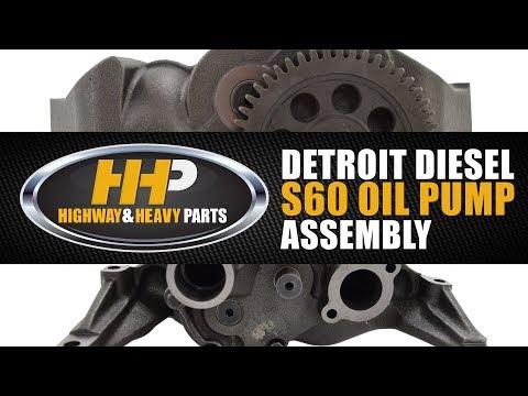 New, Diesel Engine Oil Pump, Detroit Diesel Series 60, Shop Highway And Heavy Parts!