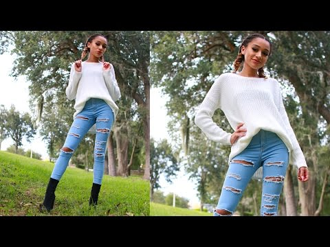 Fall Hair, Makeup, & Outfit Look!