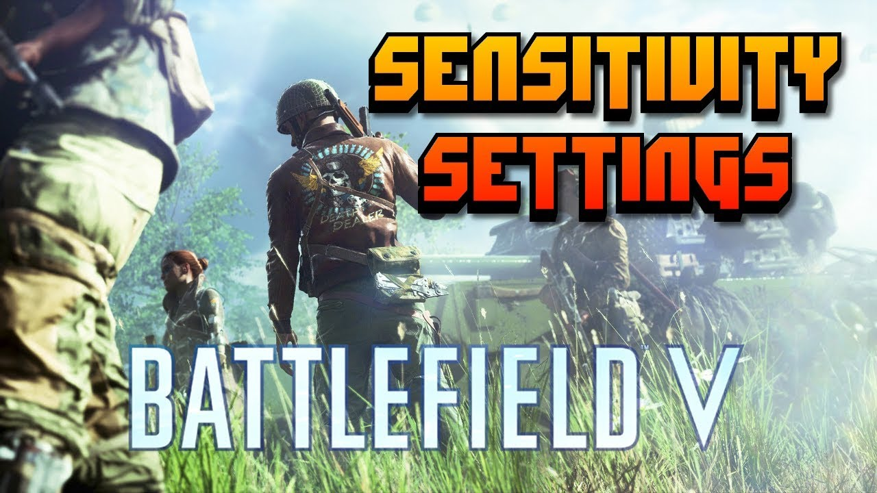 Console Sensitivity Settings for Battlefield V | Top 5 BF Player in USA