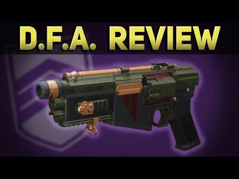 Nightfall Hand Cannon: DFA In-Depth Review & Breakdown (Season 2)